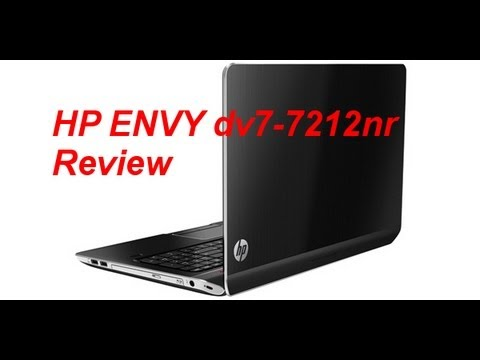 HP ENVY dv7-7212nr Review