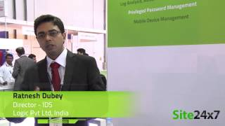 Ratnesh Dubey of Logic Pvt Ltd speaks about ManageEngine Site24x7