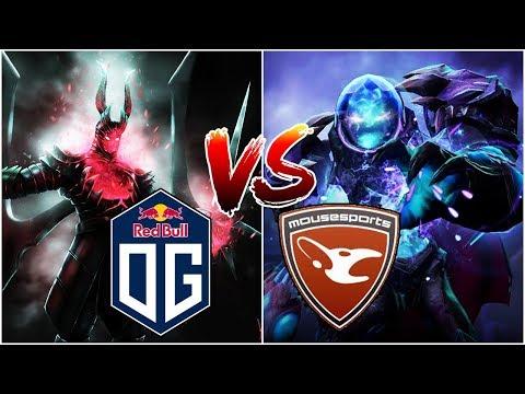 OG vs Mouz - CRAZY Action EU Semi-Final - PGL Minor DOTA 2