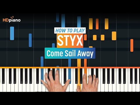 """How To Play """"Come Sail Away"""" by Styx 