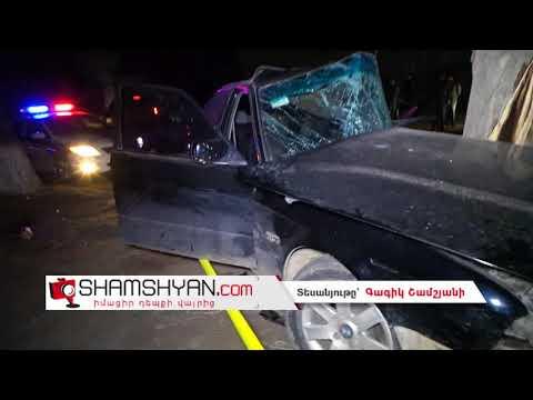Խոշոր ու ողբերգական ավտովթար Սևան քաղաքում. 38–ամյա վարորդը BMW-ով բախվել է հաստաբուն ծառին