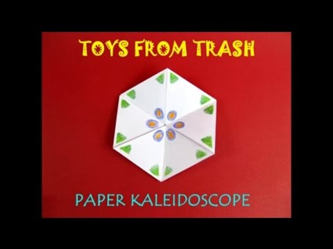 PAPER KALEIDOSCOPE - HINDI - Rotate this model endlessly!