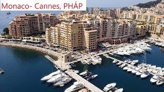 DU LỊCH CHÂU ÂU - Ngày 7 -Vương Quốc Tí Hon Giàu Có Monaco nhỏ thứ 2 trên thế giới- MONACO - CANNES