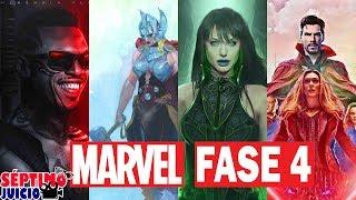 Marvel FASE 4 EXPLICADA - Series, películas, 4 Fantásticos y Mutantes   QR