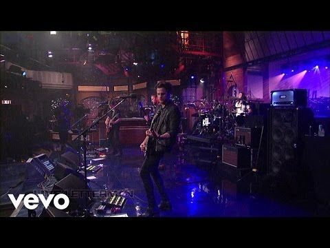 Kings Of Leon - Temple (Live @ Letterman, 2013)
