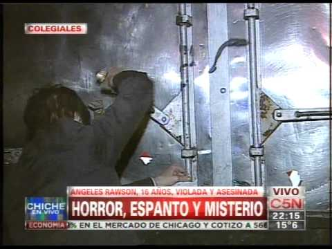 C5N - CHICHE EN VIVO: CRIMEN DE ANGELES RAWSON (PARTE 2)