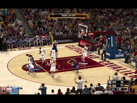 NBA 2K13™ : Team USA v/s Cavaliers
