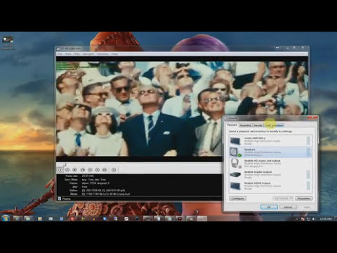 How to Use K Lite Codec Pack and  How to Output Audio to a Receiver