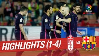 Download Resumen de Granada CF vs FC Barcelona (1-4) 3Gp Mp4