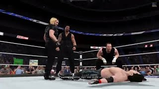WWE 2K15 Career Mode Cutscenes: (The Shield, Brock Lesnar, Daniel Bryan, Heel Cena, Wyatt Family)