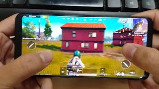Test Game PUBG Moblie on Samsung Galaxy S9 Max Settings