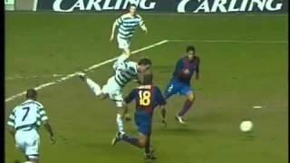 Celtic  1 - 0 Barcelona.
