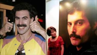 Celebrity Look-Alikes: Sacha Baron Cohen (Borat) Looks Like Freddie Mercury of Queen