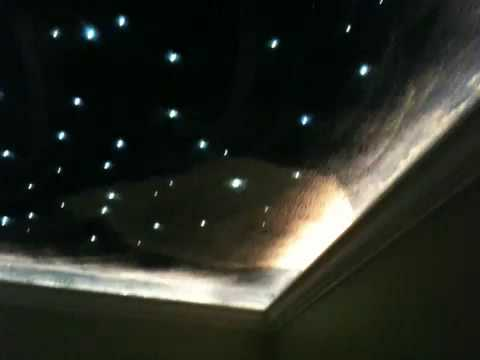 Fiber Optic Star Ceiling And More Youtube