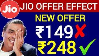 JIO OFFER EFFECT : New Offer ₹149 नहीं ₹248 का नया प्लान | Airtel New Offer Launch By ₹248
