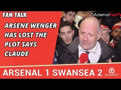 Arsene Wenger Has Lost The Plot says Claude | Arsenal 1 Swansea 2
