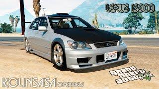 GTA 5 Lexus IS300