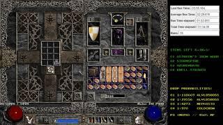 Diablo 2 - Jah Rune Drop - Holy Grail (Single Player / Plugy)