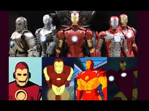 Iron Man - Evolution in TV & Cinema