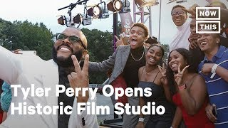 Tyler Perry Opens First Fully Black-Owned Film Studio | NowThis