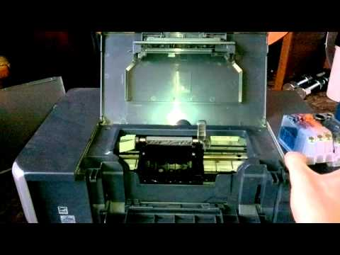 Canon Pixma iP4300 removing printhead