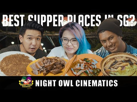 FOOD KING: Best Supper in Singapore?! (REAL ONE) | ryansylvia