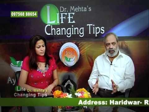 Ayurveda   Sciatica Pain tips (Hindi) - Dr. Anil K. Mehta (PDI. AGN. EISRA)