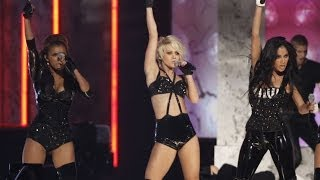 Kimberly Wyatt Live on American Music Awards 2008 with Pussycat Dolls