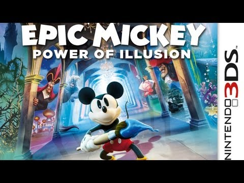 CGR Undertow - EPIC MICKEY: POWER OF ILLUSION review for Nintendo 3DS