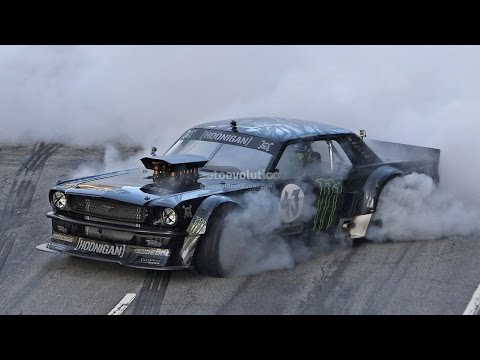 Gymkhana 7: Ken Block Drifting Vaughn Gittin 1969 Mustang Rtr-x Fastback In La [photos] video