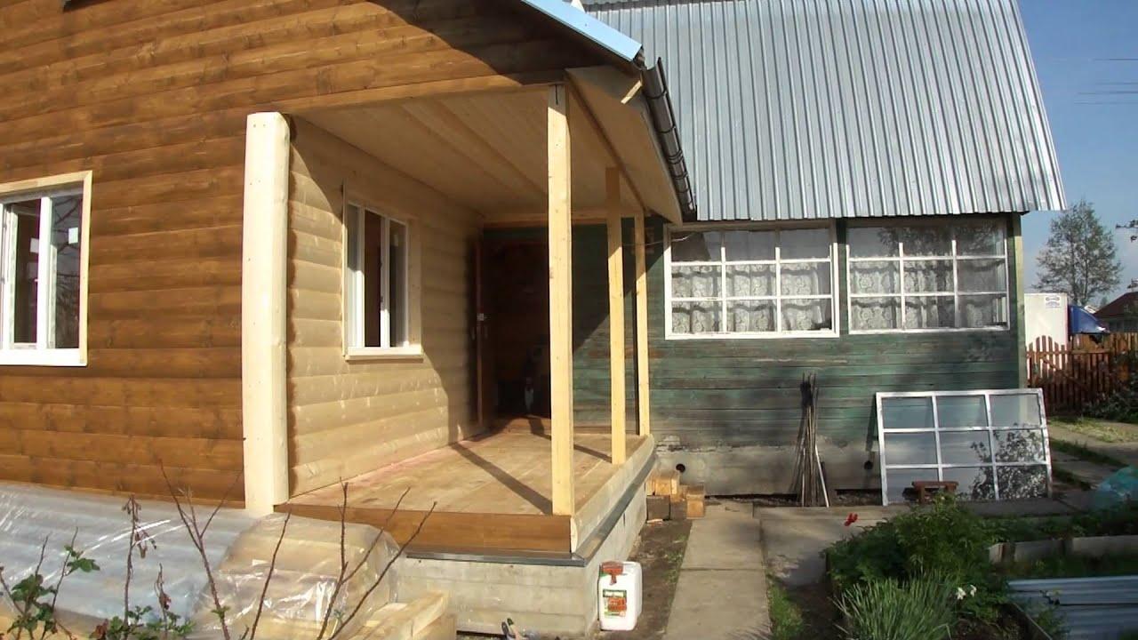 Пристроить жилую комнату к дому своими руками
