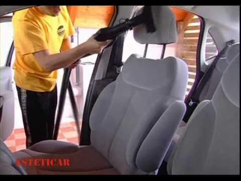 Pulizia sedili auto vapore