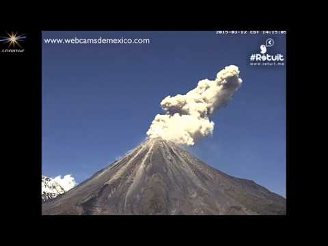 #Colima 3 12 15  1254pm LVWOTWoF #Volcan #Volcanoes