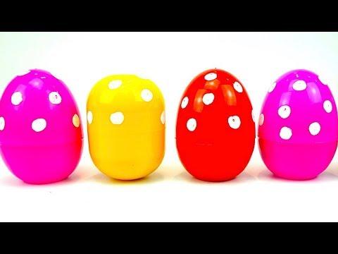 Яйца сюрпризы с игрушками трансформерами