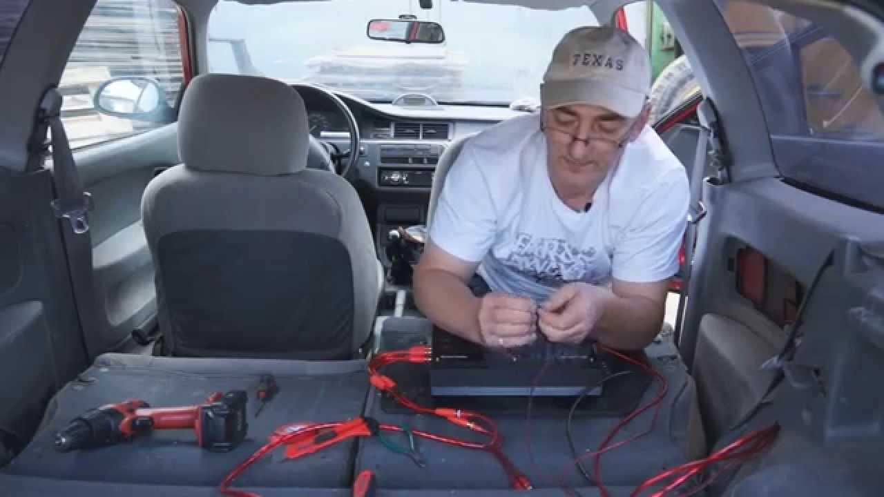 Самостоятельная установка 'музыки' в автомобиль. Ставим недорогой комплект автозвука. TravelBook.TV
