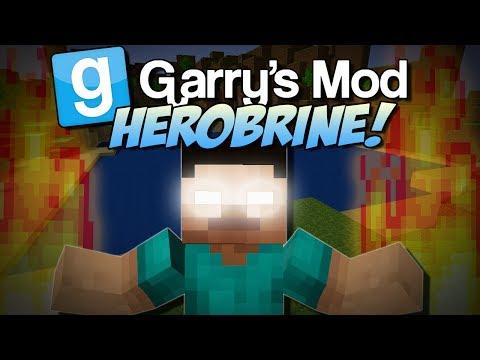 Garry's Mod   HEROBRINE MOD! (Summon Him and Suffer..)   Gmod