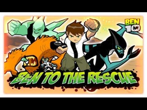 Ben 10 Ben To The Rescue Ben 10 Games