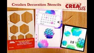 Crealies Decoratie/Decoration Stencils