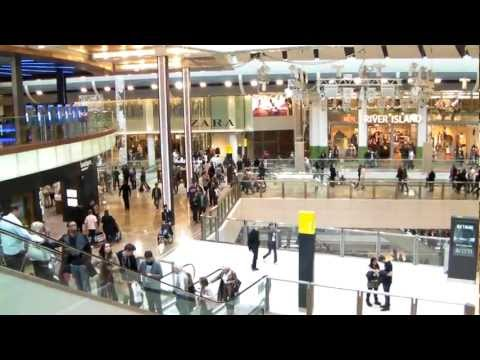 Europe's largest shopping centre Westfield Stratford City (30th October 2011)
