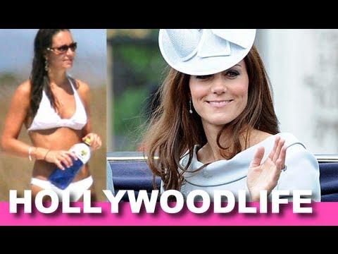 Kate Middleton Bikini Baby Bump Photographed In New Scandal