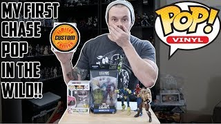 EPISODE 18 - TOY HUNTING -  FOUND MY 1ST CHASE IN THE WILD!! LOCAL COMIC SHOPS FOR SOME PICKUPS!