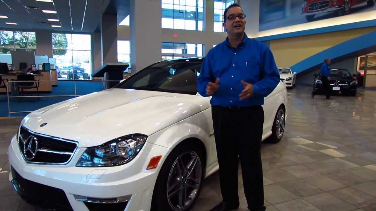 2013 mercedes benz c63 amg coupe at mercedes benz of for Mercedes benz of chandler arizona
