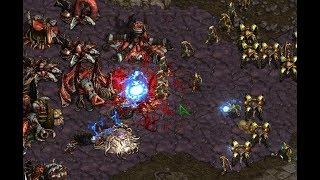 Bisu (P) v Effort (Z) on Fighting Spirit- StarCraft  - Brood War REMASTERED