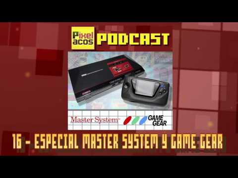 Pixelacos Podcast – Programa 16 - Master System y Game Gear