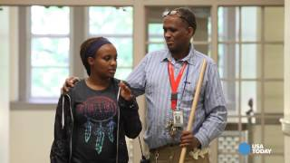 School's janitor, valedictorian share an unlikely bond