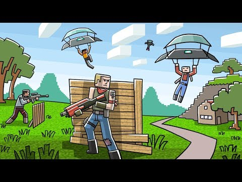 Minecraft Battle Royale - EPIC MODDED MAP! (Who Will Win!?)