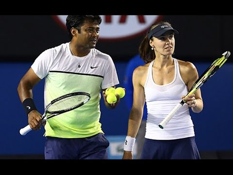 Australian Open || Leander Paes-Martina Hingis off to a winning start in mixed doubles