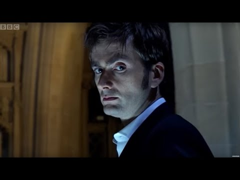The Doctor, Martha, and Tish chase Lazarus to the nearby Southwark Cathedral. The Doctor tries again to reason with Lazarus but is unable to stop him from tr...