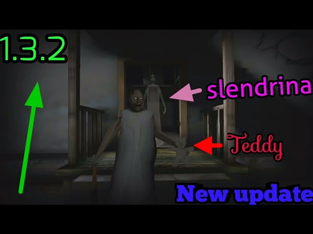 Granny horror game new update 1.3.2 new ending scene (android/ios)