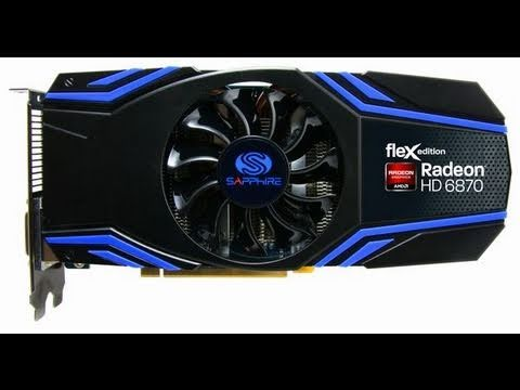Sapphire AMD Radeon HD6870 1GB Flex Edition Graphics Card Review